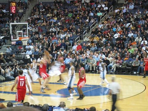 Houston Rockets in Action - Photo by enviziondotnet
