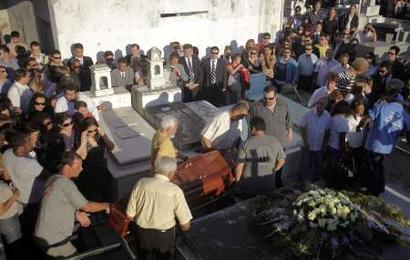 Judge's funeral