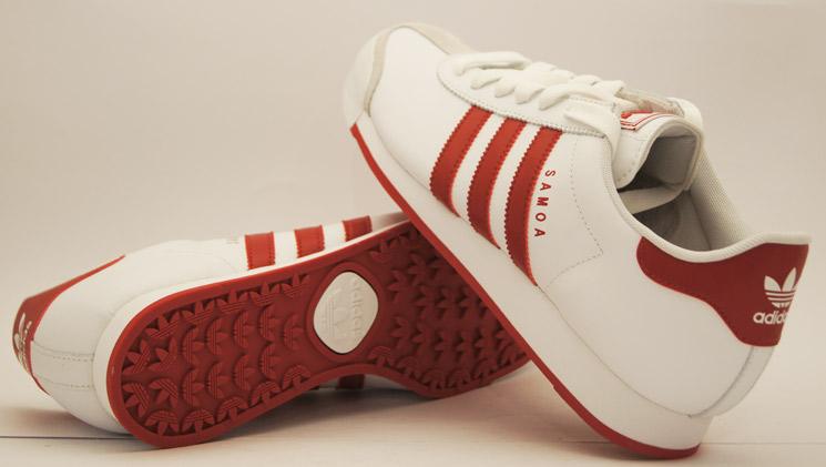 adidas samoa whitered