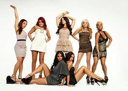 (left to right) Gia, Erica, Jenna, Amy, and Mimi (bottom row) Twins: Dani and Gabi