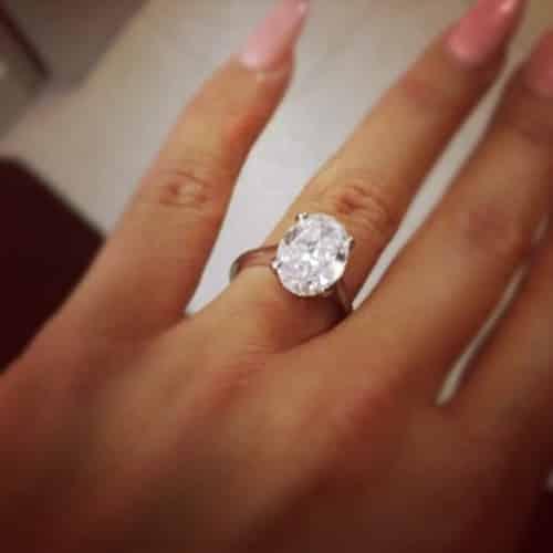 amber rose ring