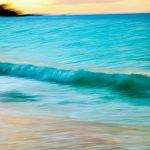 Morning Photograph of Aruba Wave on Eagle Beach