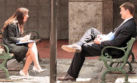 man-and-woman-talking