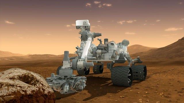 The Mars Curiosity Rover has landed
