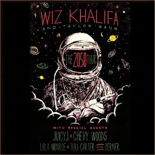 Wiz Khalifa & Taylor Gang Announce The 2050 Tour