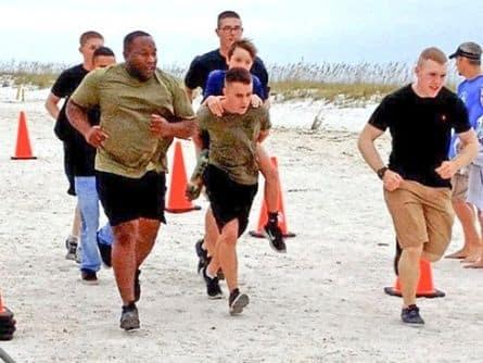 Marines Carry Ben Baltz
