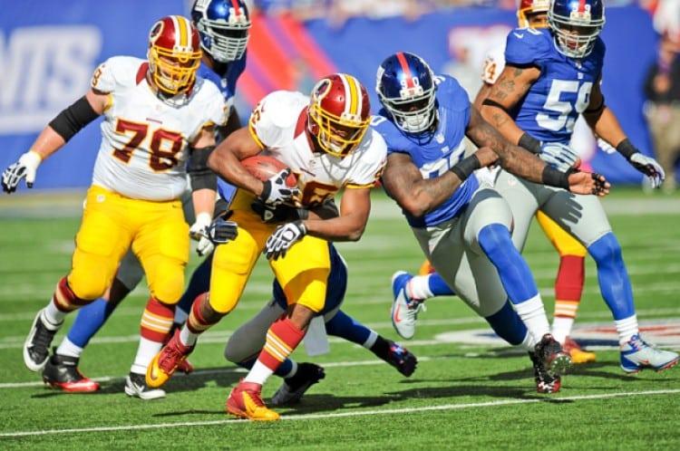 Redskins Rookie Alfred Morris