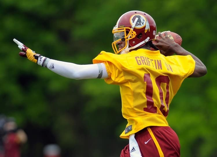 Redskins' Robert Griffin III