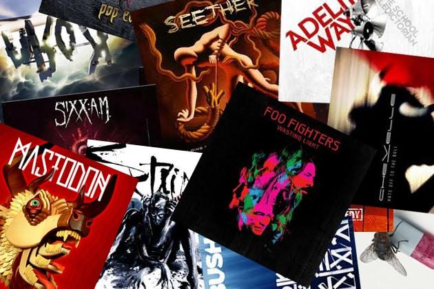 rock albums 2011