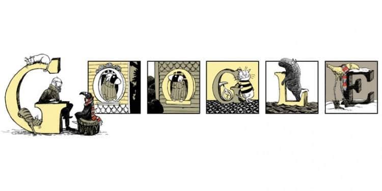 Edward Gorey Celebrated With Google Doodle