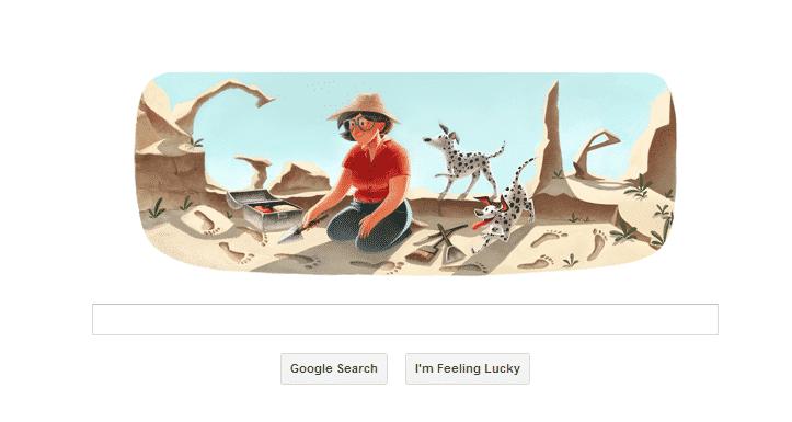 Mary Leakey Celebrated With Google Doodle