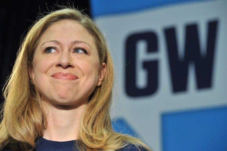 Chelsea Clinton, daughter of President B