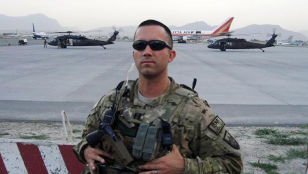 Navy Pilot Thomas Saenz