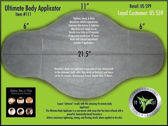 body applicator
