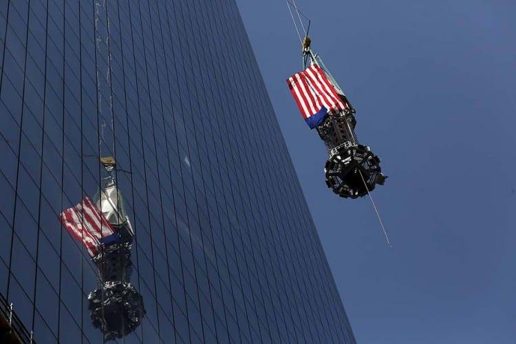 APphoto_World Trade Center Spire